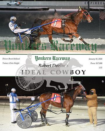 20200118 Race 1- Ideal Cowboy
