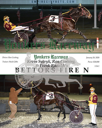 20200120 Race 6-Bettors Fire N