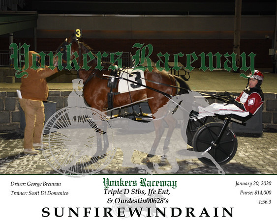 20200120 Race 2-SunFireWindRain