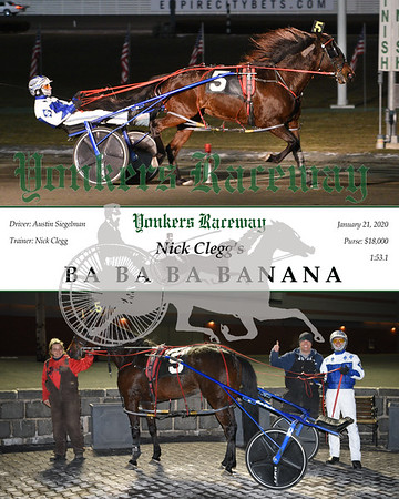 20200121 Race 9- Ba Ba Ba Banana