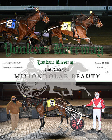 20200121 Race 3- Miliondolar Beauty