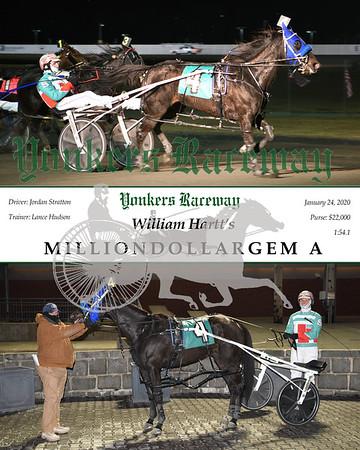20200124 Race 3- Milliondollargem A