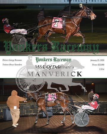 20200125 Race 8- Manverick