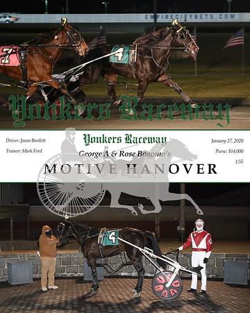 20200127 Race 1-  Motive Hanover