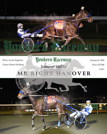 20200131 Race 11- Mr Right Hanover