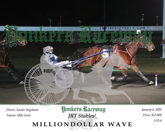 20200106 Race 9- Milliondollar Wave 2
