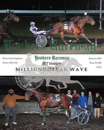 20200106 Race 9- Milliondollar Wave