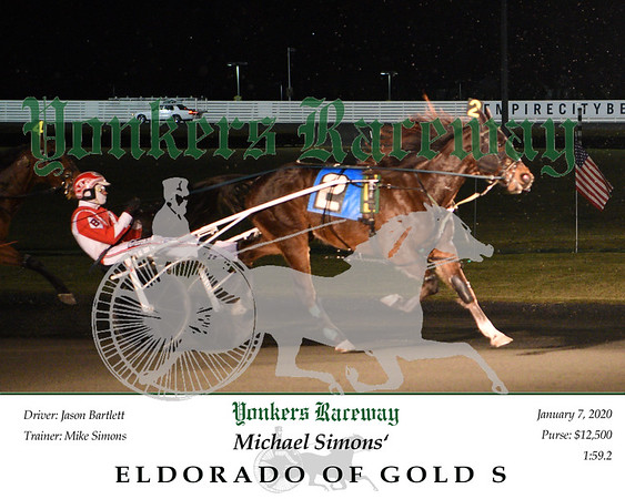 20200107 Race 4- Eldorado Of Gold S