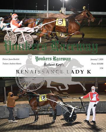 20200107 Race 11- Renaissance Lady K