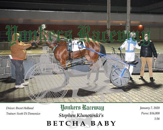 20200107 Race 6-Betcha Baby 2
