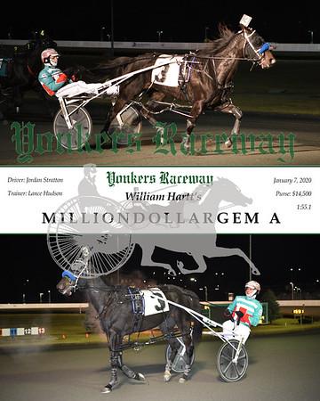 20200107 Race 12- Milliondollargem A