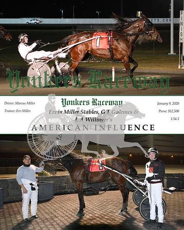 20200109 Race 5- American Influence