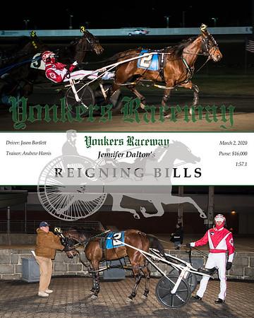 20200302 Race 5- Reigning Bills