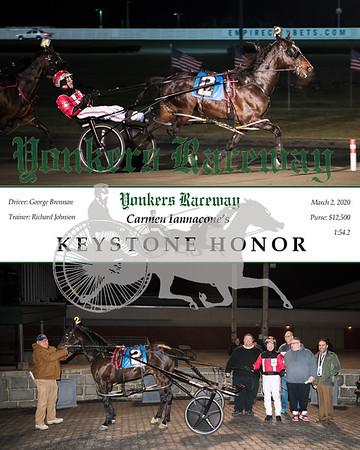 20200302 Race 1- Keystone Honor