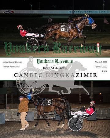 20200302 Race 7- Canbec Kingkazimir