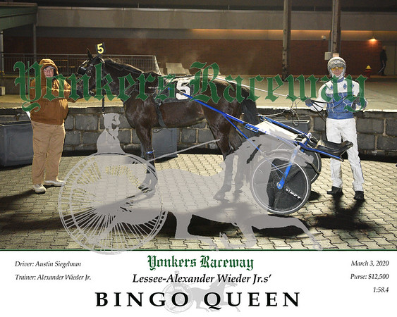 20200303 Race 7- Bingo Queen