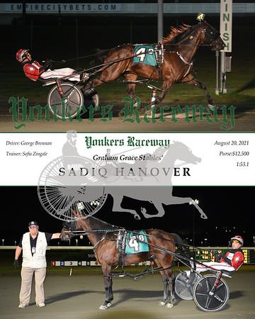 20210821 Race 8- Sadiq Hanover
