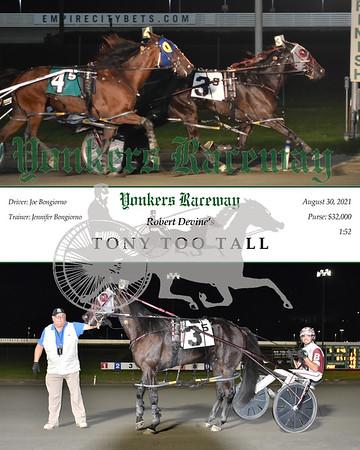 20210830 Race 5- Tony Too Tall