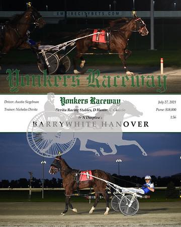 20210727 Race 4- Barrywhite Hanover