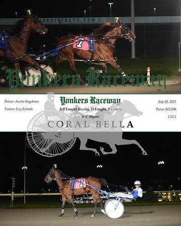 20210728 Race 7- Coral Bella