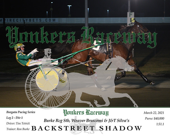 20210322 Race 3- Backstreet Shadow