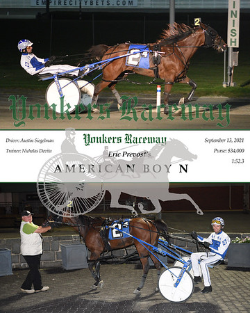 20210913 Race 4- American Boy N