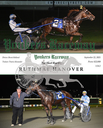 20210922 Race 6- Ruthmae Hanover