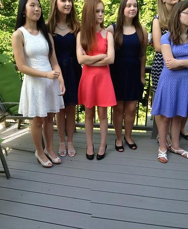 Rachel 8th grade graduation- June 2014