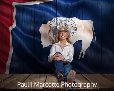 Rachel Derner. Miss Rodeo Wyoming 2020