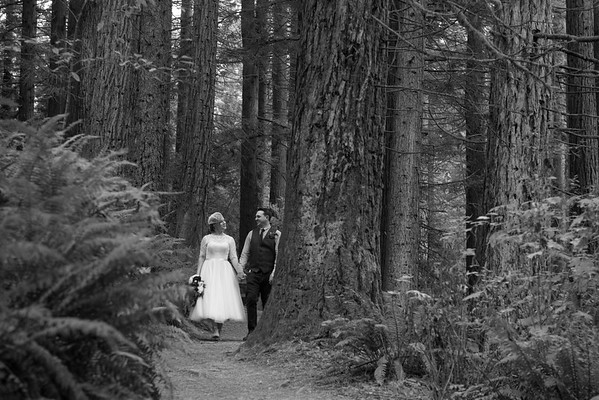 Rachel & Kenny, Hoyt Arboretum, Sept. 24