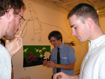 Kurt's senior art show