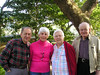 My great aunt and uncle, Bob and Mary Dressner, who live on St. Simons Island, and my grandparents.