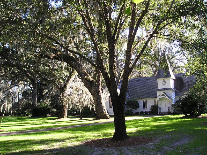 Christ Church on St. Simons Island, GA