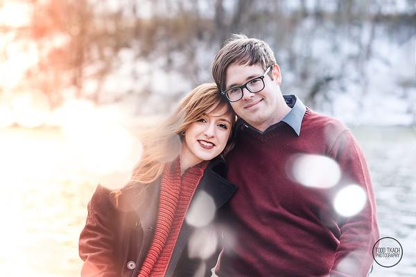 Rachel & Wyatt, North Park Engagement, Pittsburgh, PA