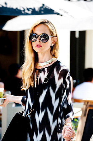 Rachel Zoe seen in Brentwood