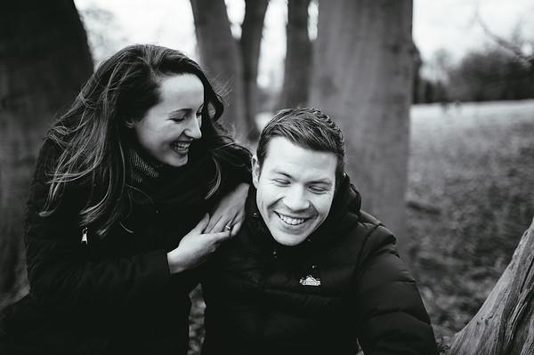 Rachel and David Engagement