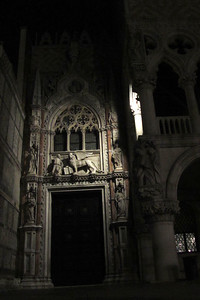 San Marco at night.
