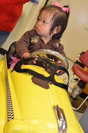 March 10, 2013 - Rachel 1st Haircut