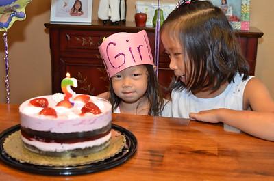 October 23, 2014 - Rachel 3YO Birthday Cake