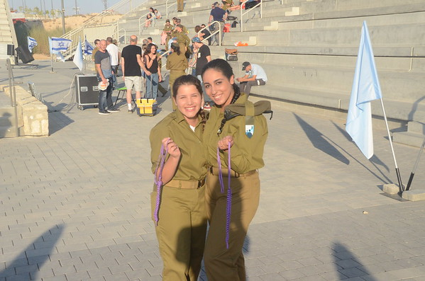 Israel - Rachels Air Force Graduation 090716
