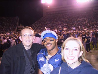 2001, BYU - U of U game