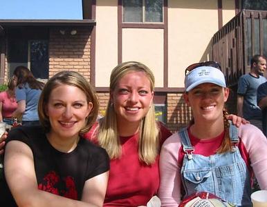 2003, Rachelle's BYU Ward Social