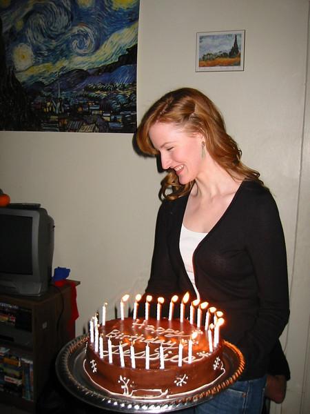 2005, Jessica's 25th Birthday