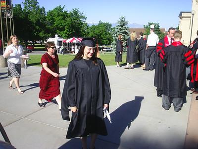 2006, Rachelle's MSPH Graduation
