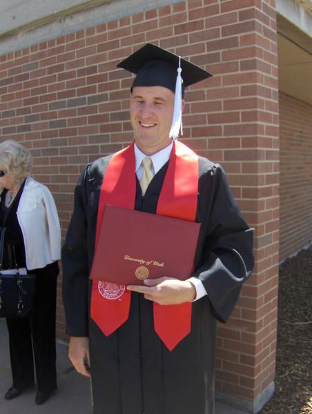 2008, Jeremy's Graduation