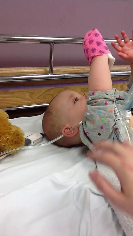 2011, Ellie's MRSA Hospitalization