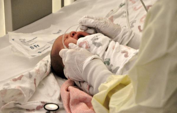2011, Ellie's RSV Hospital Visit