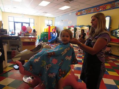 2013, Ellie's First Haircut