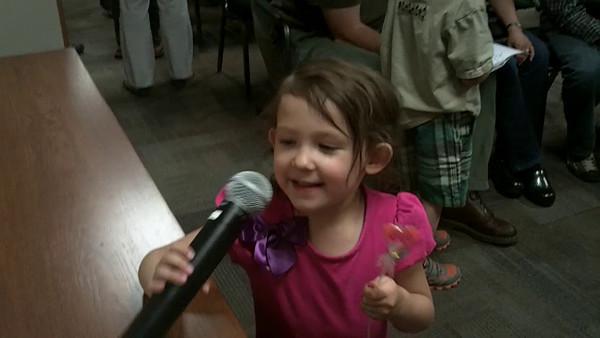 2014, Olivia's Preschool Graduation