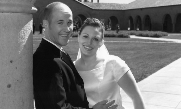 2006, Wedding Pics at Stanford